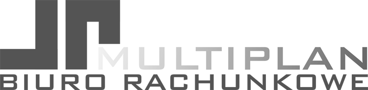 Biuro rachunkowe Multiplan logo ciemne